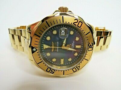 Invicta Grand Diver Men's Watch Automatic Gold 47mm 13940