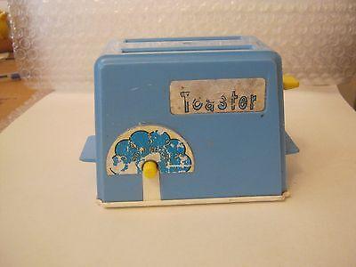 Chilton Toys Blue Plastic Toy Toaster  (010-18)