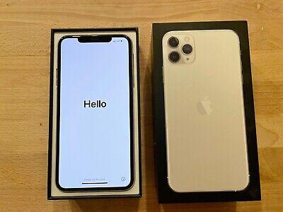 Apple iPhone 11 Pro Max - 64GB - Silver  (Unlocked) original box