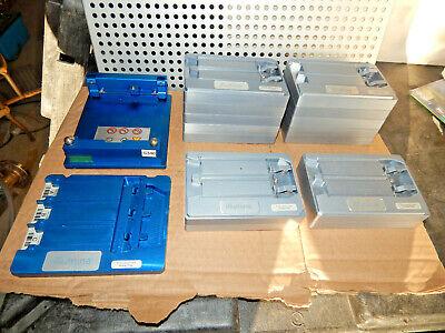 Illumina Blue Adapter Plate Caddy Tray For Beadarray Reader Plus Gray Too