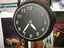 Vintage Cast Iron Frying Pan Skillet Kitchen Wall Clock