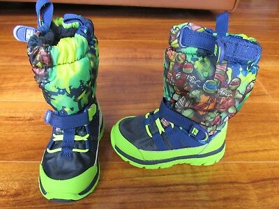 NEW STRIDE RITE M2P Ninja Turtles SNEAKER BOOTS Toddler BOYS size 5M $60.