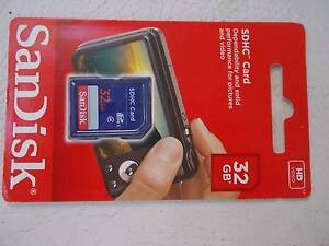 SDHC 32 GB Memory Card South Hurstville Kogarah Area Preview