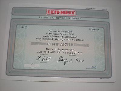 Deutschland - Leifheit AG   50  DM  1984   1/232