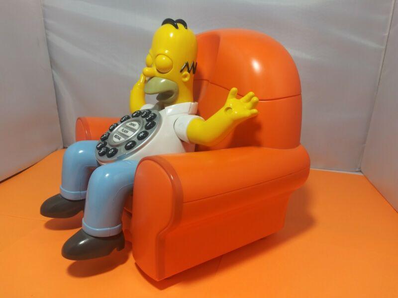Homer Simpson Animated Talking Phone (The Simpsons) Rare