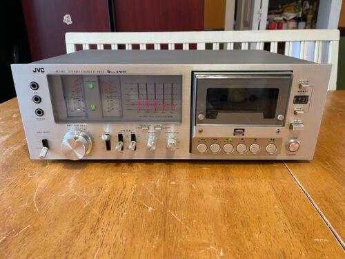 Vintage JVC KD-85J Cassette Deck Player tape recorder Working Fine PLEASE READ