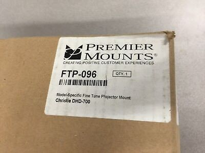 Premier Mounts FTP-096 for Christie DHD700 Ceiling Mount for Projector ()