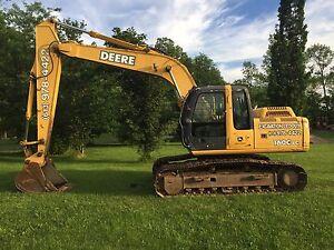 Deere Excavator 160C Lc