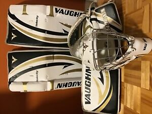 Vaughn velocity hockey cosom goalie kit