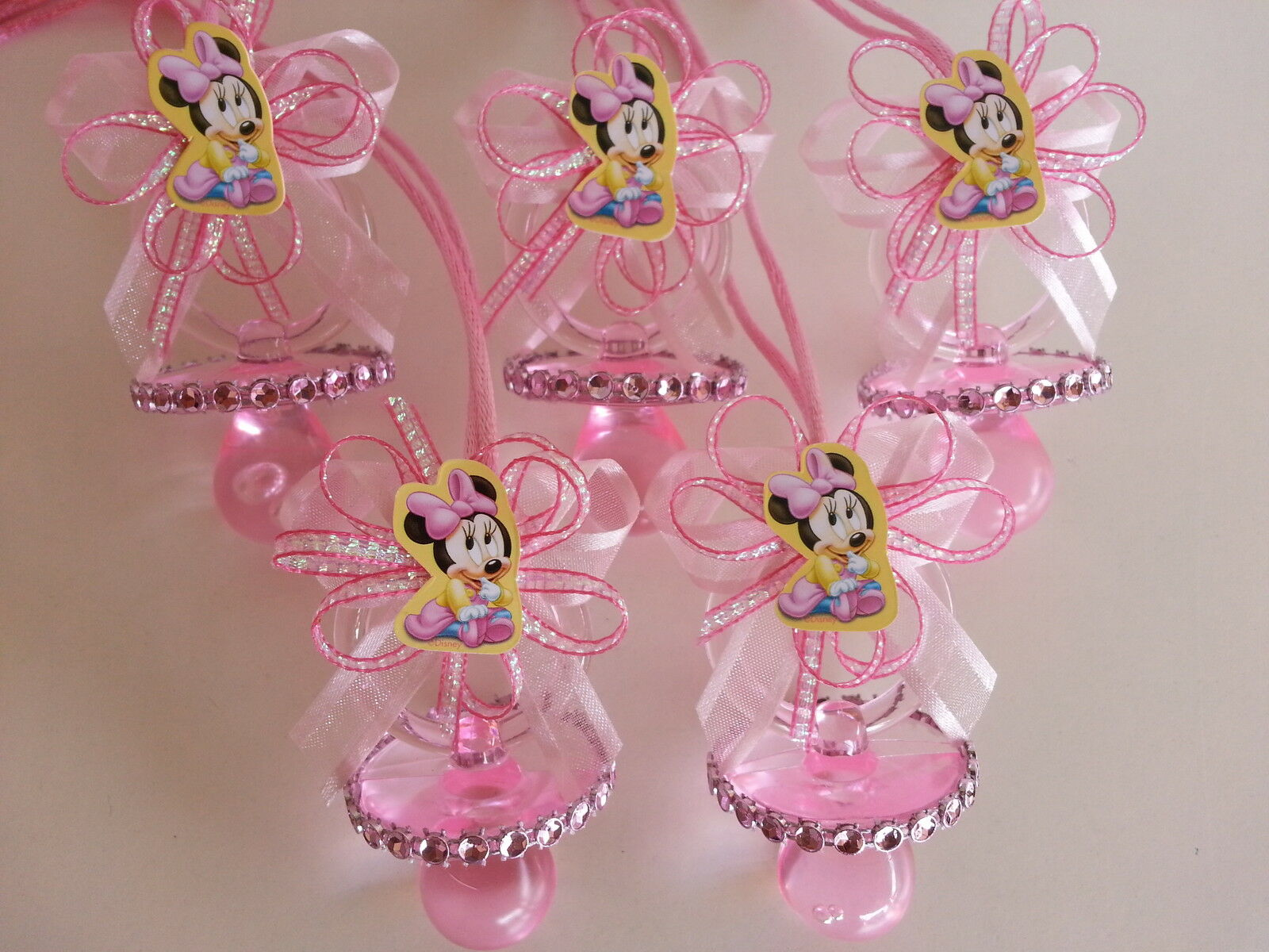 Minnie mouse centerpiece bottle large 14 baby shower piggy bank girl decoration ebay - Minnie mouse baby shower decorations ...
