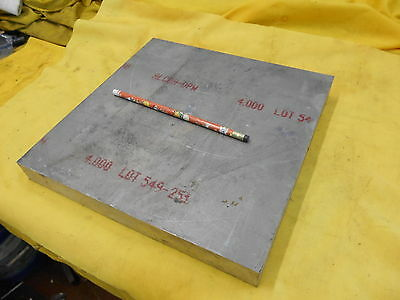 7050 Aluminum Flat Stock Machine Shop Bar Plate 1 14 X 11 X 11 Alcoa