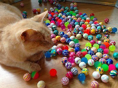 100 Super Bouncy Balls Birthday Party Favors Bouncing Grab Bag