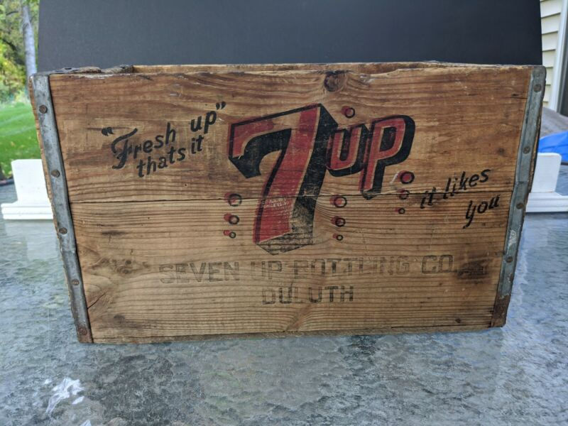 7-up Wood Crate Fresh Up
