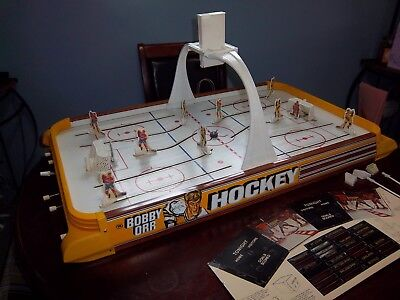 Bobby Orr Munro Gold Cup Hockey game Table top Hockey Game 1973 for sale  Brookfield
