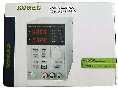 Korad Ka3005d Laboratory Adjustable Digital Lab Dc Regulated Power Supply 30v 5a