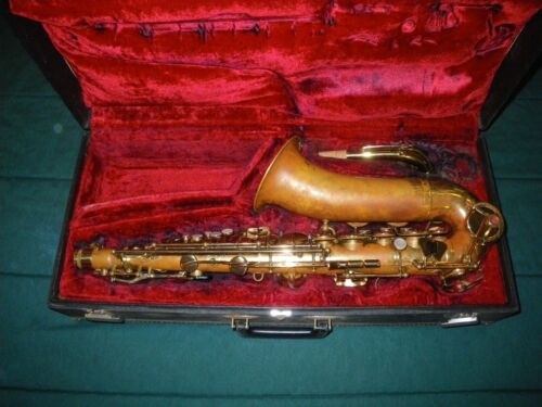 LEBLANC VITO MODEL 35 ALTO SAXOPHONE - SEMI-RATIONALE KEY SYSTEM - PLAYING COND.