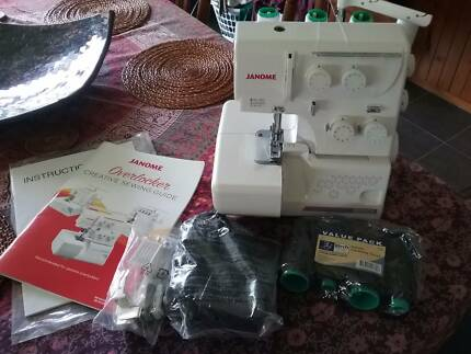 Janome overlocker brand new not in box