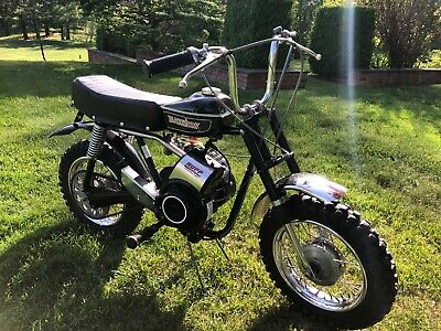 1971 Rupp Black Widow All Original with tag on seat