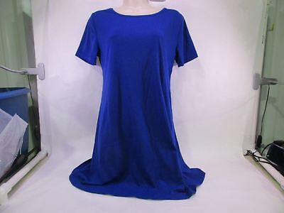 For G & PL Women's T-Shirt Dress Blue Small NEW