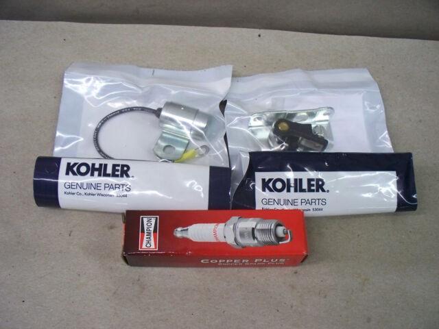 John Deere Kohler Points & Condenser Champion