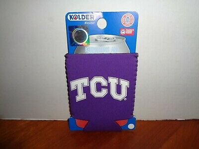 Usado, TCU HORNED FROGS BEER SODA WATER CAN BOTTLE KADDY KOOZIE KOLDER HOLDER HUGGER segunda mano  Embacar hacia Mexico