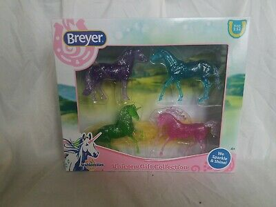 Breyer Stablemate Unicorn Sparkle & Shine Gift Set 6048