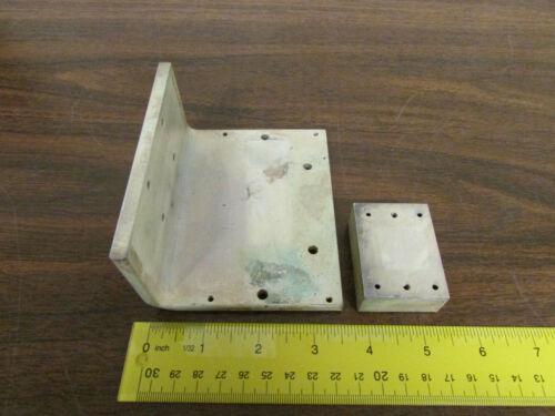 Pair Solid Copper Heatsinks Heat Sinks 2.5 Lbs Total