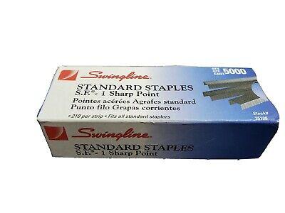 Swingline Standard Chisel Point Staples 5000 Staples Swi35108
