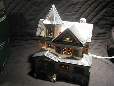 Dickens Village Lighted House - Victorian House