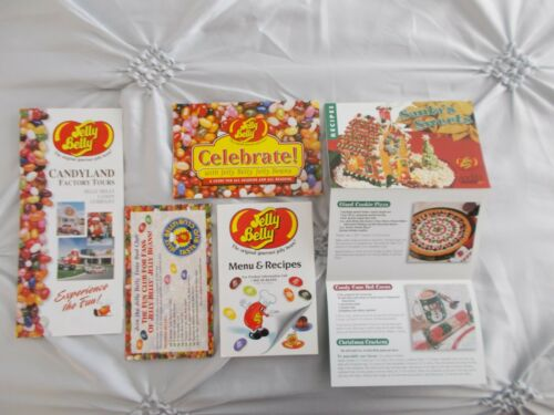 Jelly Belly Jelly Beans Candy Company Recipes Pamphlets