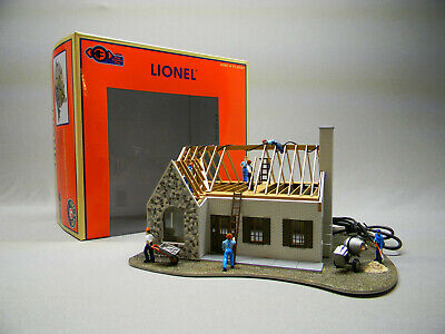 Used, LIONEL HOUSE UNDER CONSTRUCTION O GAUGE PLUG-n-PLAY building lighted 6-84792 NEW for sale  Indiana