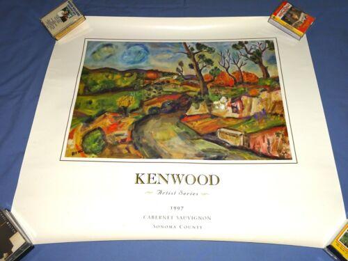 Kenwood Artist Series 1997 Poster Cabernet Sauvignon Sonoma County California