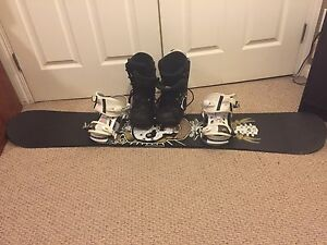 Men's Snowboard and boots