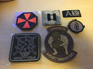 Brand new patches