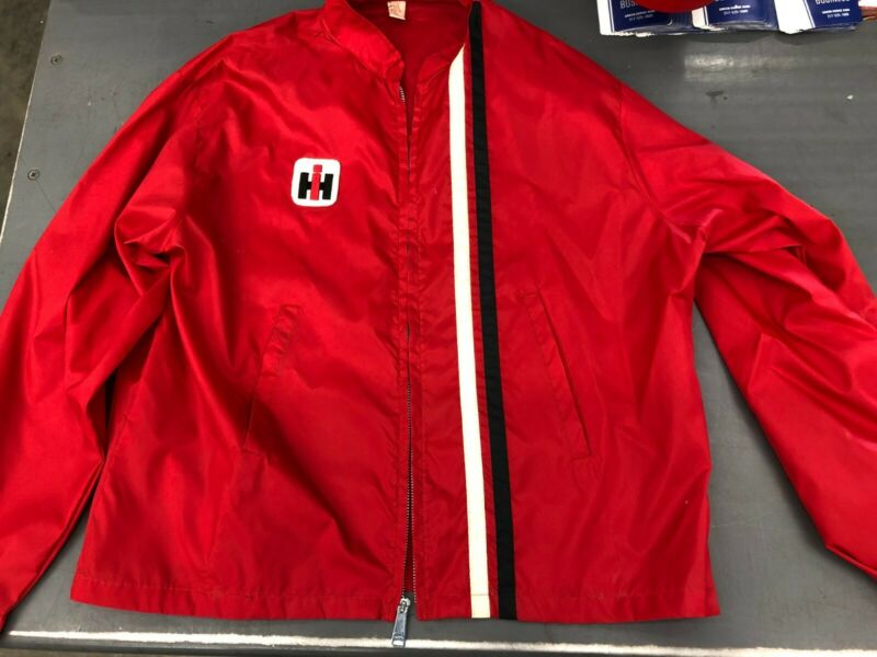 International Harvester Vintage coat windbreaker jacket IH farmall