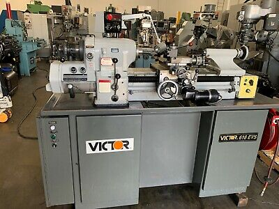 Victor 618 Evs Tool Room Lathe With Tooling