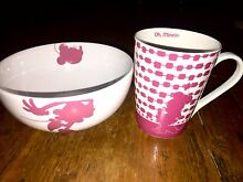 Disney Minnie Mouse Mug and Bowl Set Reservoir Darebin Area Preview