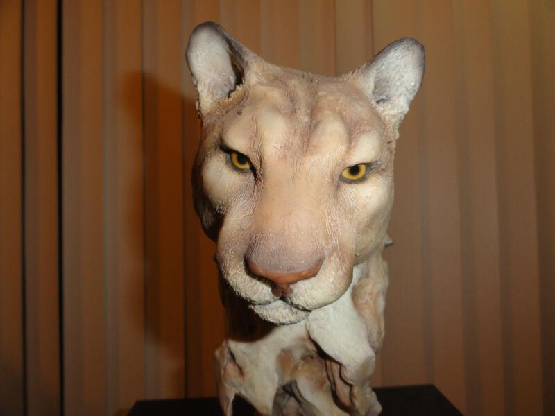 Earth Tones - Mill Creek Studios- Cougar statue / sculpture