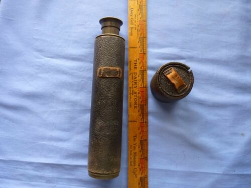 Vintage Horne & Thornthwaite Telescope Made in London