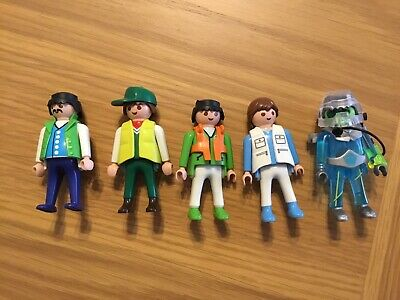 5 Playmobil Figures