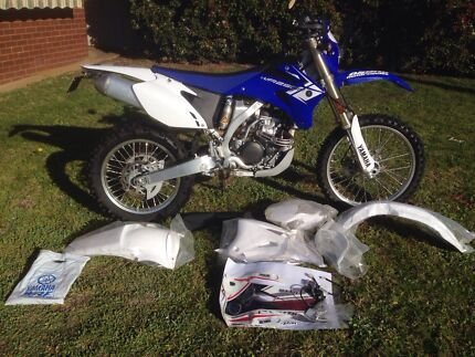 Yamaha WRF Racing wiring kit and plastics kit. Wagga Wagga 2650 Wagga Wagga City Preview