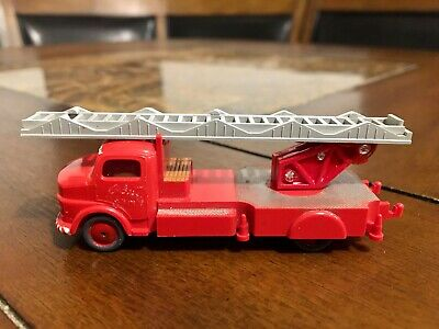 LEGO HO SCALE VINTAGE CLASSIC 1960'S MERCEDES FIRE TRUCK EXTREMELY RARE!