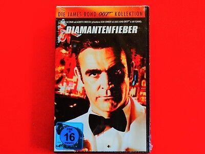 VHS Video Kassette: James Bond * Diamantenfieber * Sean Connery * neu * ovp (James Bond Videos)