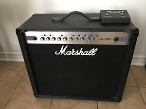 NO TRADES Marshall amp 100watts (MG101CFX) with footswitch