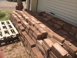 1300+ Red Brick Pavers Kidman Park Charles Sturt Area Preview