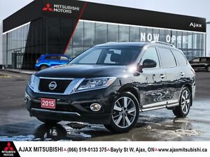 2015 PATHFINDER PLATNUM ED-ACCIDENT FREE AND LOADED!!