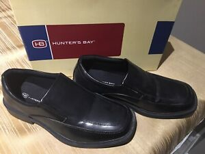 Boys Hunter's Bay Black Shoes