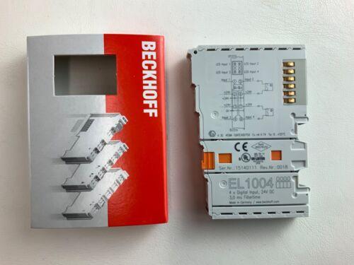 BRAND NEW BECKHOFF ETHERCAT EL1004 4 CHANNEL DIGITAL INPUT TERMINAL MODULE