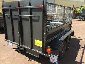 8x5 Tandem with Ramp, cage, 12 months priv rego on road $3000 Smithfield Parramatta Area Preview