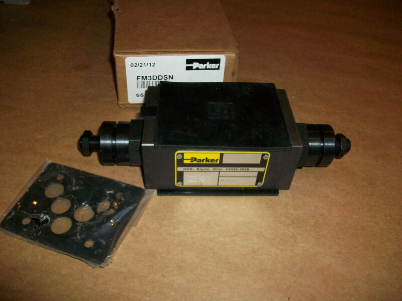 Parker Hydraulic Flow Valve  FM3DDSN   NEW IN BOX